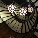 Cotton house - escalera