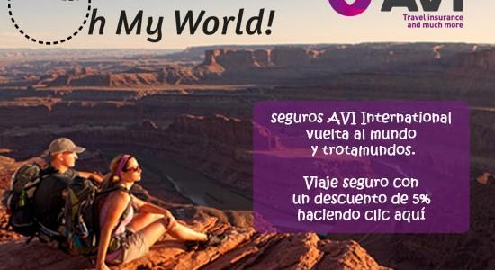 AVI International – Una gran cobertura para la vuelta al mundo