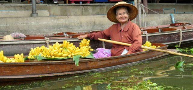 Mercado flotante Damnoen Saduak – Excursión desde Bangkok