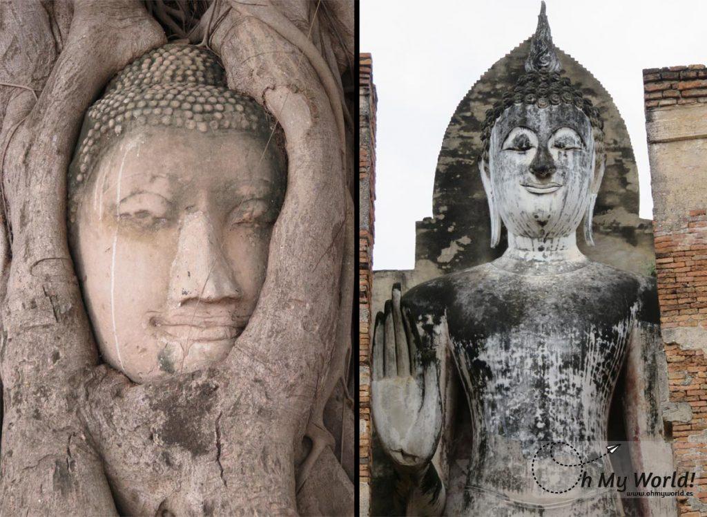 Ayutthaya y Sukhothai