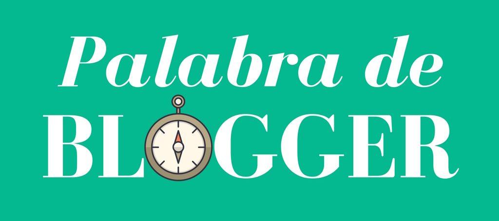 palabra de blogger