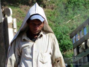 Trabajadores en Pakbeng