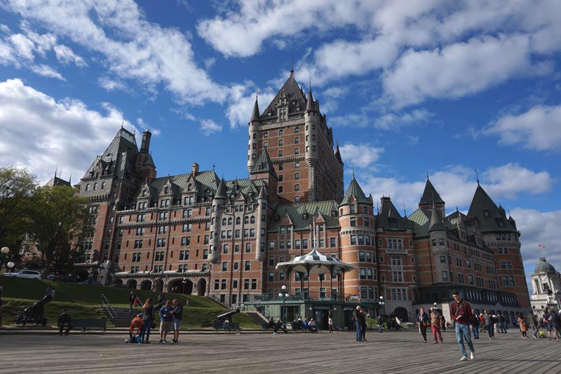 Quebec paquete de viaje a Canada