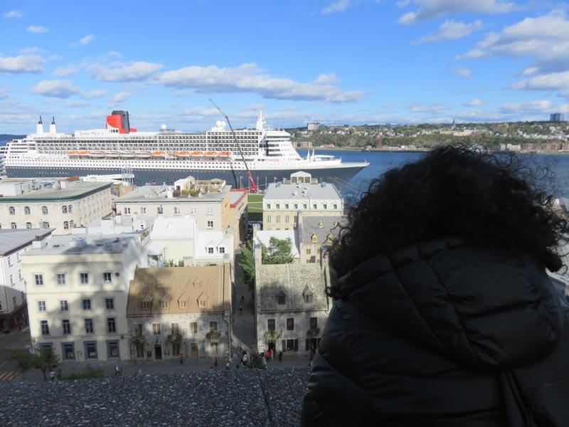 Vistas al crucero