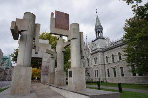 El monumento a los derechos humanos