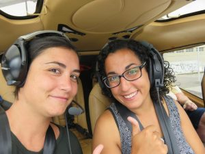 Viaje en helicóptero
