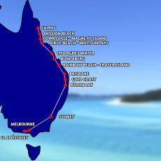 Australia – un mes de ruta por la costa Este